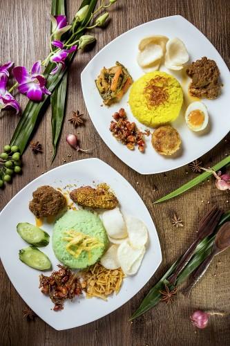 椰汁香葉飯及黃薑雜飯